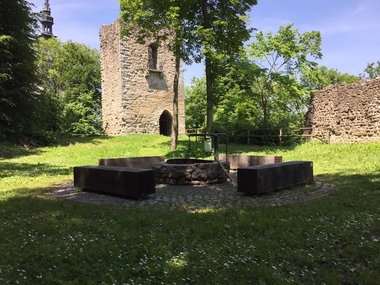Ausflugsziel: Ruine Castell Tägerwilen